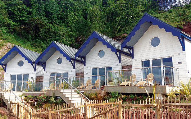 Cary-Arms beach-huts