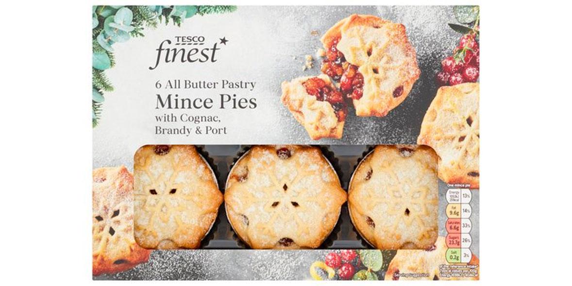 Tesco Finest Mince Pies