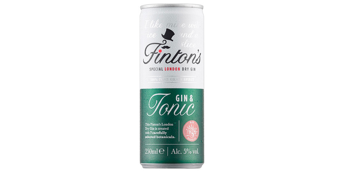 Finton's Special London Dry Gin & Tonic