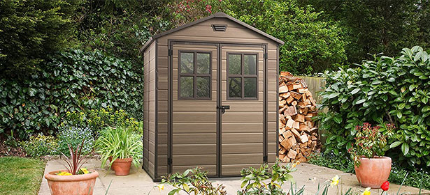 Plastic shed