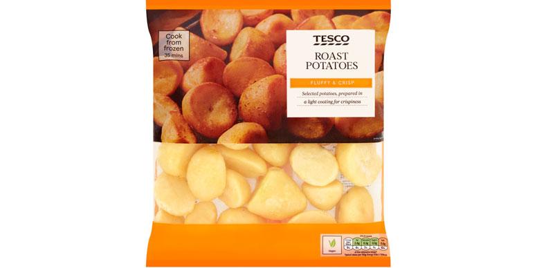 Tesco roast potatoes