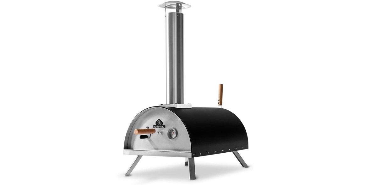 Burnhard Nero Stainless Steel Outdoor Pizza Oven