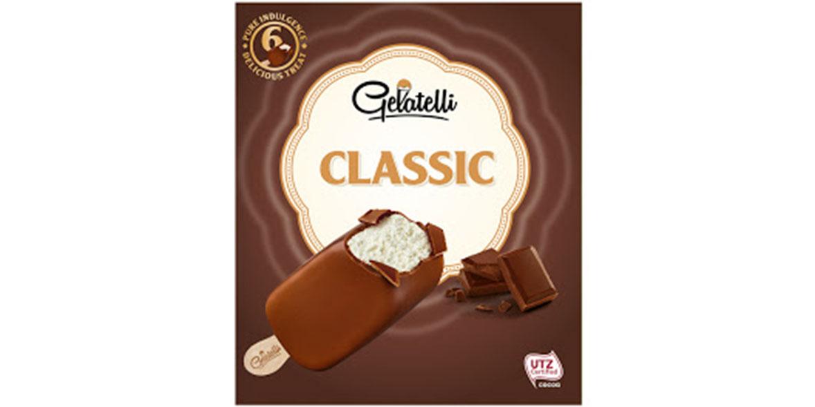 Lidl Gelatelli Classic Chocolate Covered Vanilla