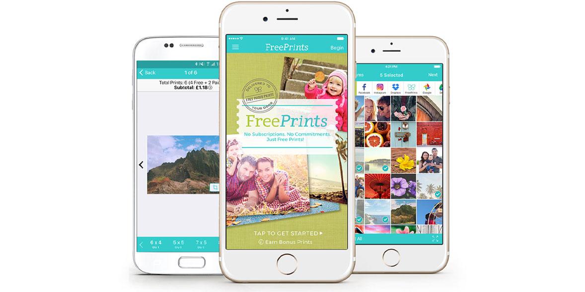 freeprints photo printing app
