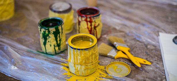 painting DIY decorating