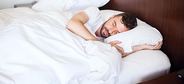 Man sleeping