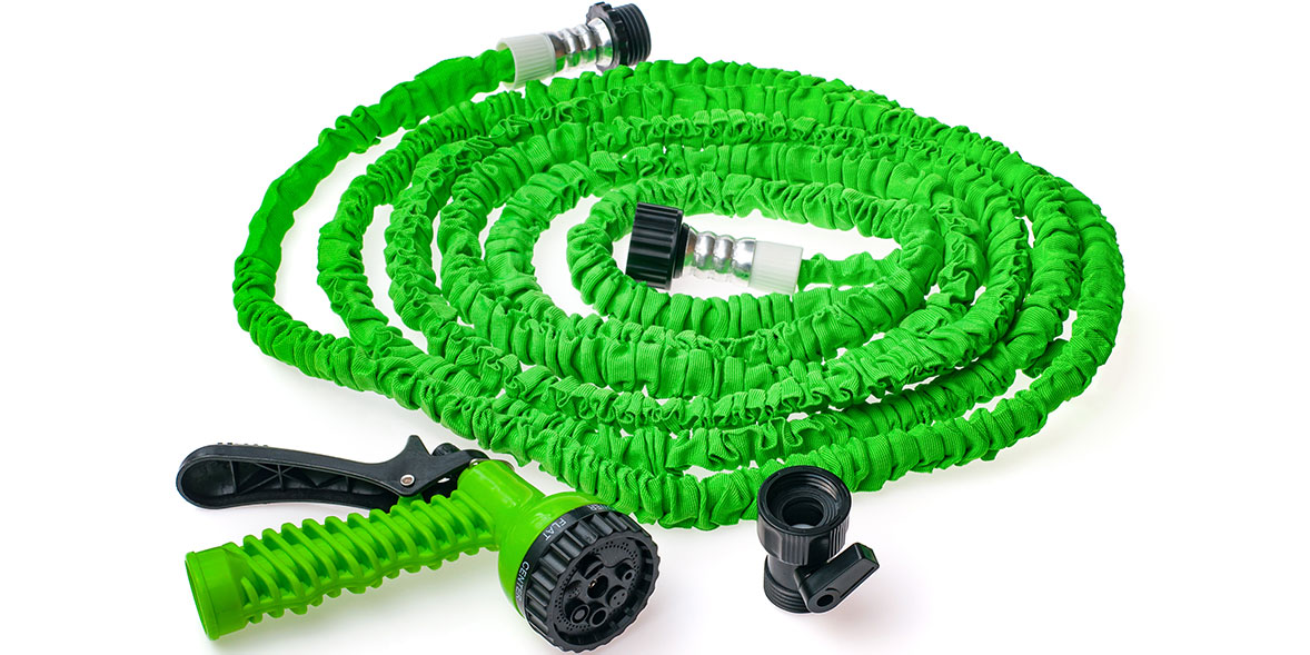 An expandable hose