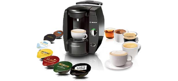 Tassimo coffee machine with pods