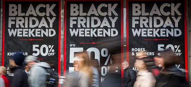 Black Friday sales