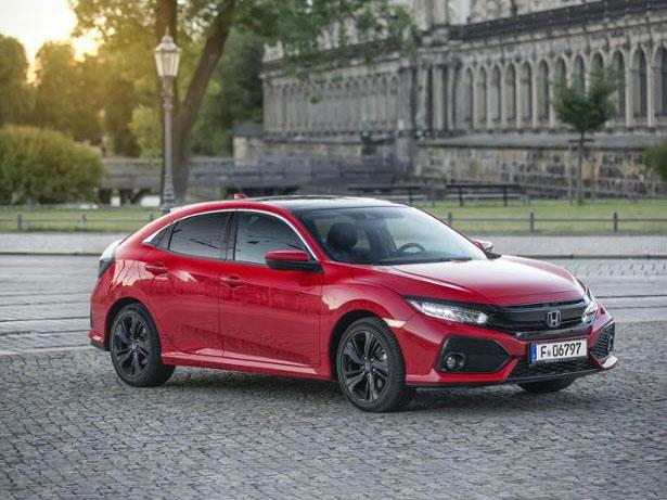 Honda Civic 2017 slide