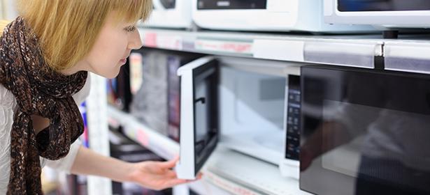 Used_opening door microwave 391792