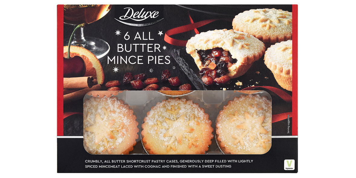 Lidl Deluxe Mince Pies
