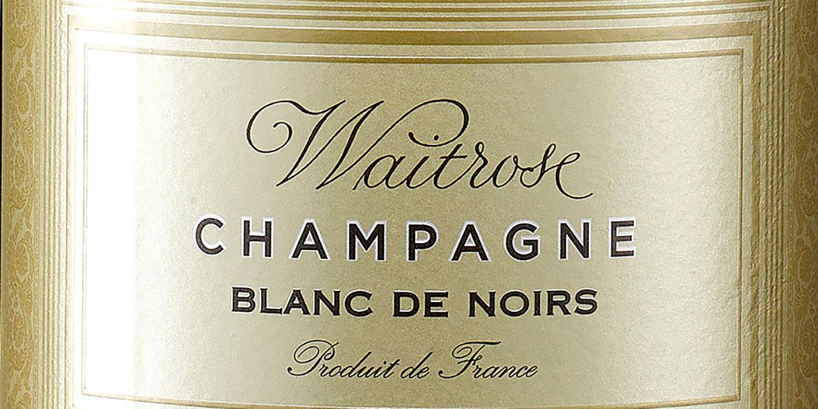 Waitrose Blanc De Noirs
