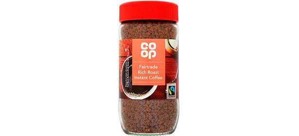 Co-op Fairtrade Rich Roast instant coffee