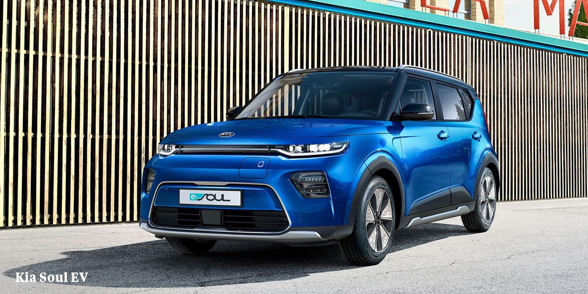 Kia Soul EV electric car