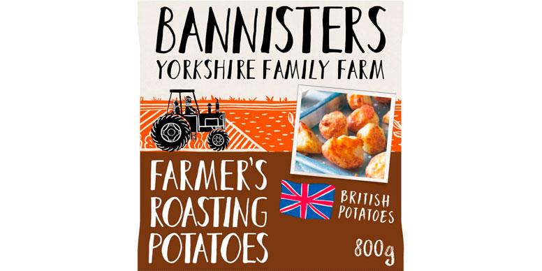 Bannisters farmer's roasting potatoes