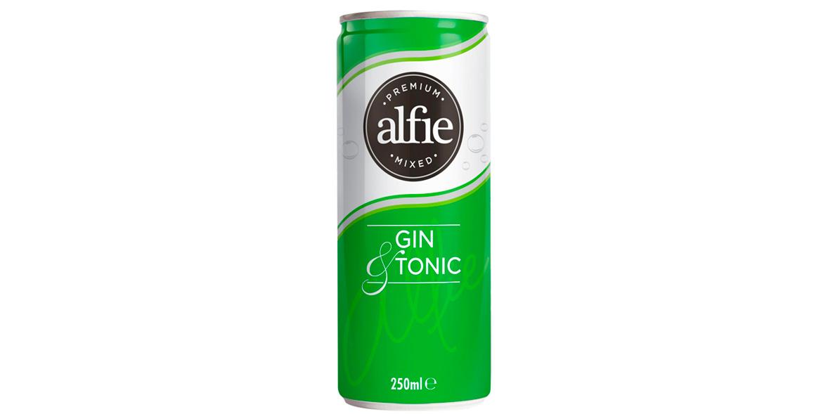Alfie Premium Mixed Gin & Tonic