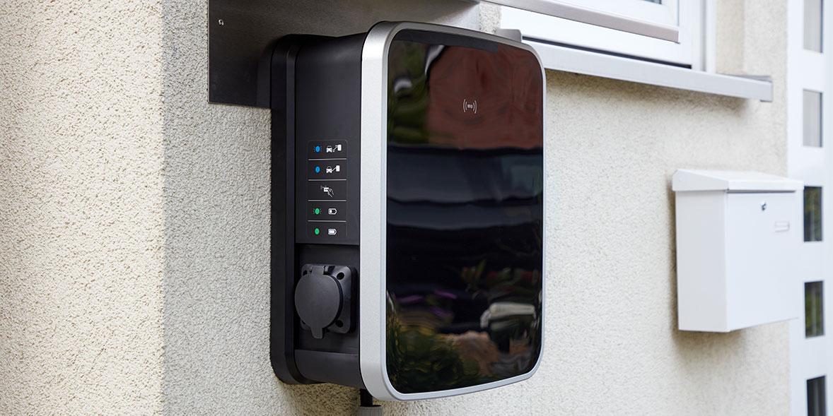 wallbox charger at home