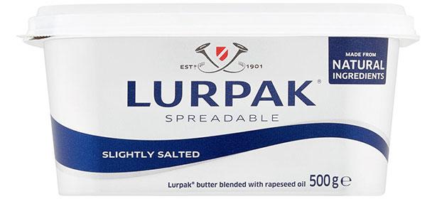 Lurpax spreadable butter