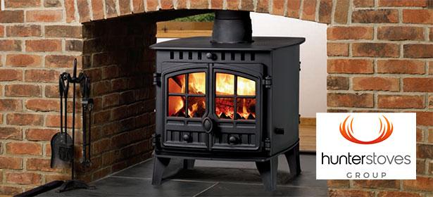 Hunter herald wood burning stove 482666
