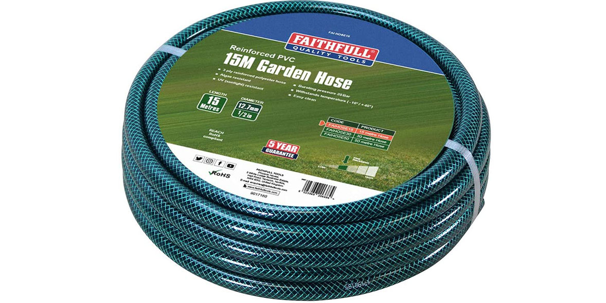 Faithfull garden hose