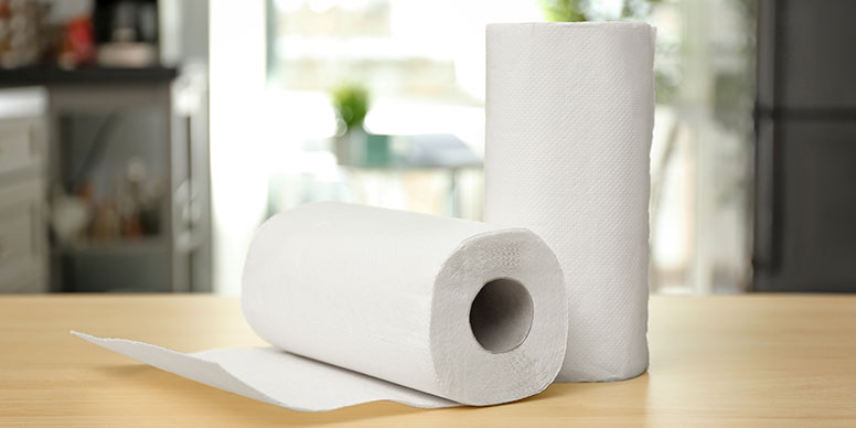 Roll of kitchen towel