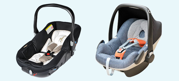 carrycot vs baby car seat