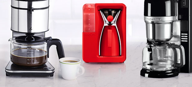 Pour-over filter coffee machines