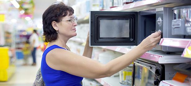 Browsing microwave