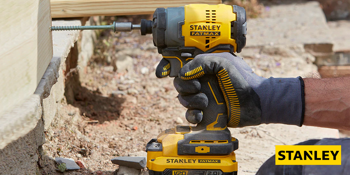 Stanley cordless drill