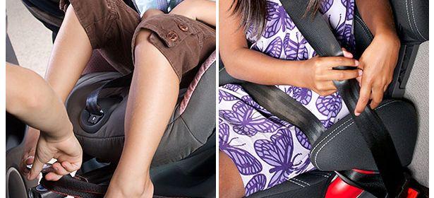 twisted seat belt