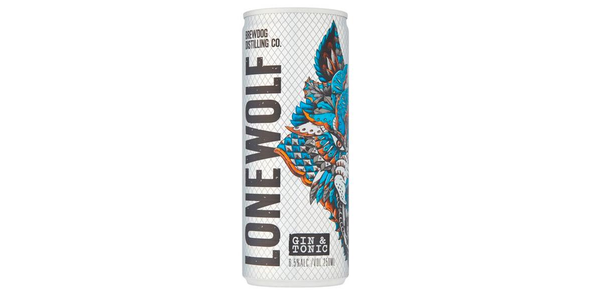 Brewdog Lonewolf Gin & Tonic