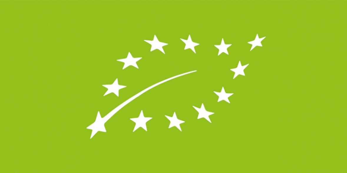 EU Organic Leaf Logo