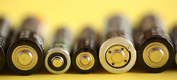Used_rechargeble batteries ends 434215