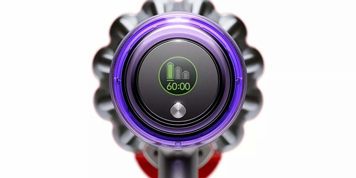 Dyson V11 Absolute LCD display