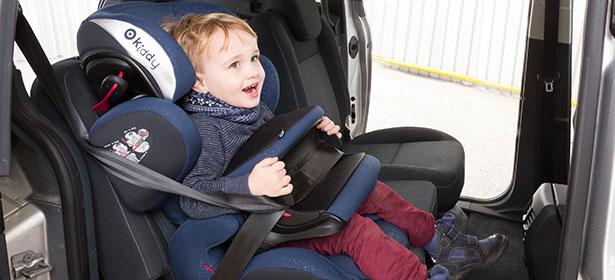 Nuna brand child car seat