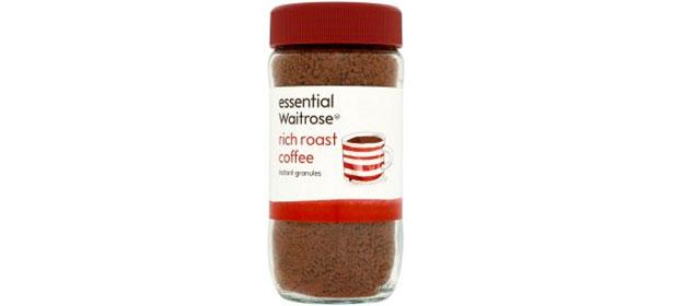 Waitrose Essential Rich Roast instant coffee