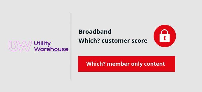 Utility Warehouse Broadband score