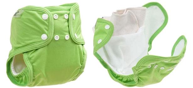 Pocket reusable nappy