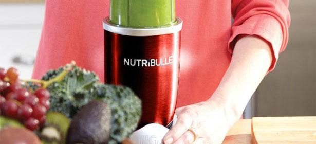 Nutribullet being used