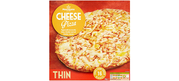 Morrisons Cheese Pizza Thin