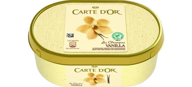 Carte D'Or Les Classiques Vanilla Ice Cream