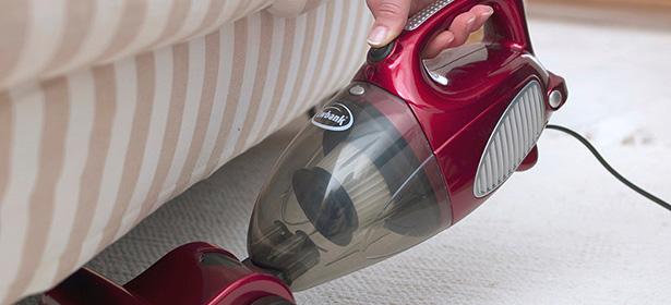 USED_ Handheld vac in car