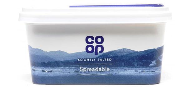 Co-op spreadable butter